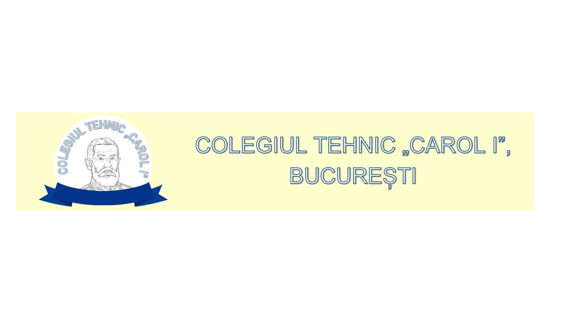 logo colegiul tehnic carol 1